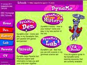 DynaMo's Den - Come and play in my Dynatastic Den, jam packed with games and quizzes!