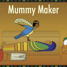 Create your own Ancient Egyptian Mummy.